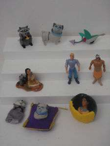 DISNEY POCAHONTAS 9 PVC TOY FIGURE BURGER KING TOYS