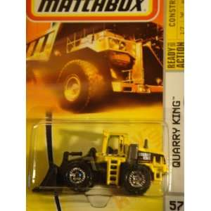 Matchbox Quarry King Yellow Highly Detailed Issue Collection #57