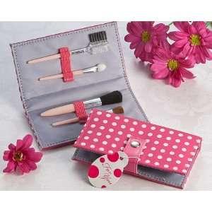 Baby Keepsake Pretty in Pink Polka Dot Makeup Brush Kit Baby