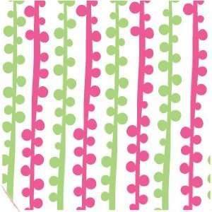 200 Sheets, Bubble Stripe Printed Tissue, 20x30 sheets