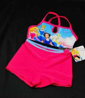HPink Girls Summer Swimsuit Swimwear 2 PC SZ 3T 4T SW7
