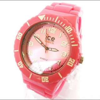 Plastic Jelly Ice Quartz Watch Watches ODM Fashion With Removable Band