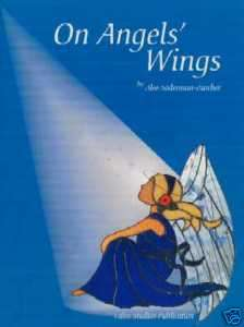 On Angel Wings stained glass pattern book, Books