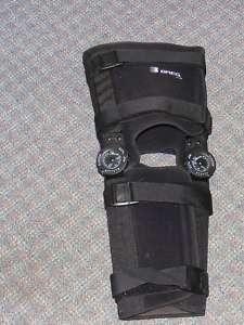 BREG T SCOPE Post Op Full Foam Knee Brace Size XL