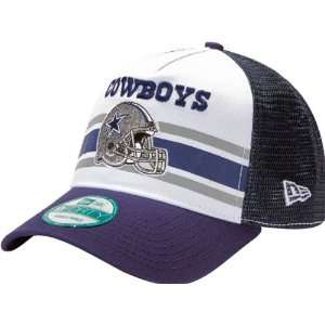 Cowboys New Era 9FORTY Spiral Stripe Adjustable Hat