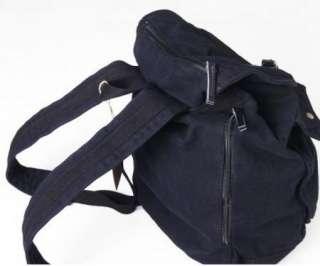 Rucksack Backpack Canvas Bag School Travel Mens Women