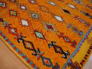 BERBER RUG FROM HIGH ATLAS MOUNTAINS MOROCCO 6 5 x 3 6