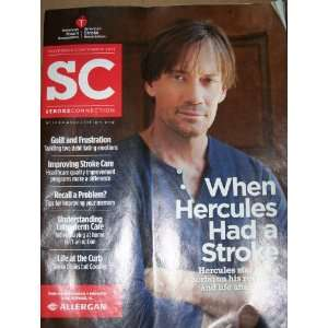 Stroke Connection Magazine Hercules Kevin Sorbo