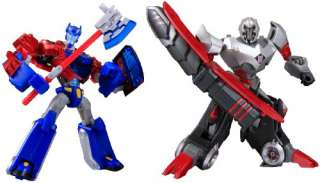 Transformers Animated TA Optimus Prime vs Megatron