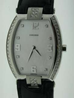 NEW CONCORD LA SCALA MOP LADIES DIAMOND WATCH