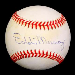 EDDIE MURRAY SIGNED AUTOGRAPHED OAL BASEBALL BALL PSA/DNA #P95842