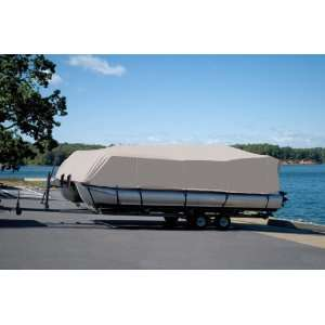 206 Pontoon Boat Cover for a Boat with Rails That Fully