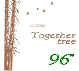 Wall Decor Decal Sticker Removable large 96 tree trunk