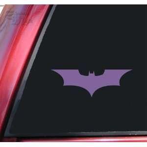 Batman Begins / The Dark Knight Vinyl Decal Sticker   Lavender