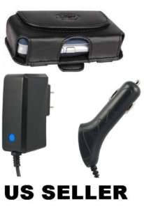 Car+home Charger & Case for Tracfone Motorola W376g