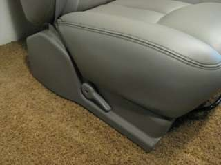 GM SILVERADO AVALANCHE SIERRA Tahoe OEM LEATHER SEATS 2002 2003 2004