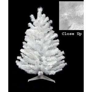 2 Snow White Artificial Christmas Tree   Unlit