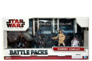 Star Wars action figure set from the Legacy Collection Battle Packs.