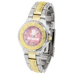 Baylor University Bears Competitor Mother Of Pearl   Two tone Band