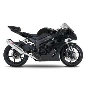 09 11 KAWASAKI ZX6R YOSHIMURA TRC FULL SYSTEM EXHAUST   STAINLESS