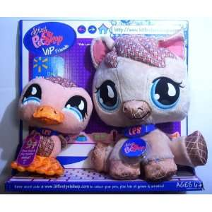 Littlest Pet Shop Pony and Duckling Vip Friends Toys & Games