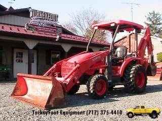 Kubota L39 Tractor Loader Backhoe 4WD GST 1187 Hours