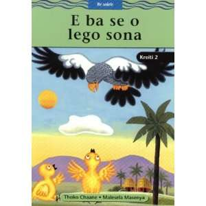 E Ba Se O Lego Sona: Gr 2: Reader (Word Streams