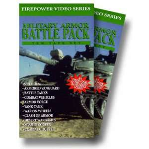 Military Armor Battle Pack Firepower Video Series (10 Video Set) [VHS