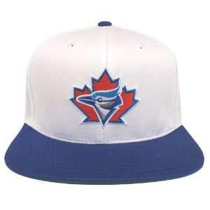 Toronto Blue Jays Retro Snapback Cap Hat AN 2 Tone White Blue