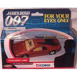 Esprit Turbo The Ultimate Bond Collection Diecast Model Toys & Games
