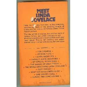 Inside Linda Lovelace: Linda Lovelace: Books