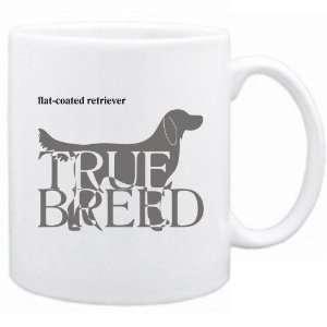 Flat Coated Retriever  The True Breed  Mug Dog