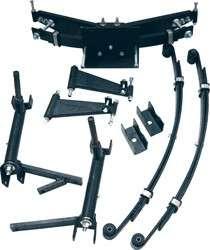 Club Car DS GOLF CART A ARM Lift kit 6 w/ HD SPRINGS
