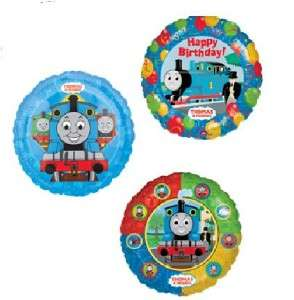 THOMAS THE TRAIN birthday party supplies 3 balloons