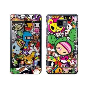 S2 Tokidoki All Stars Protective Skin Cover Film Sticker Electronics