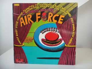GINGER BAKERS AIR FORCE LIVE DOUBLE LP 1970 RARE PROG