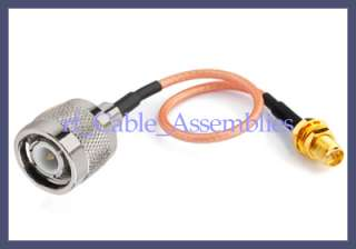RP SMA Female TNC male RF Radio Antenna pigtail cable