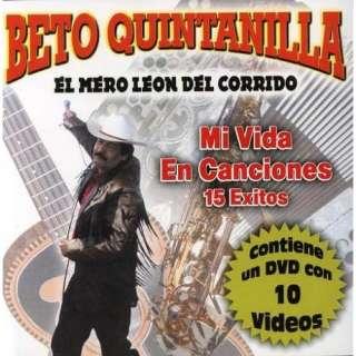 Mi Vida En Canciones 15 Exitos Beto Quintanilla