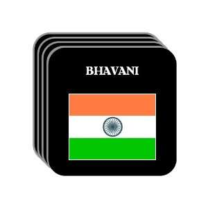 India   BHAVANI Set of 4 Mini Mousepad Coasters