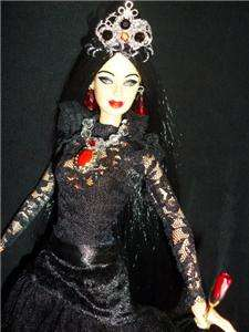 Countess Elizabeth Báthory ~ Bathory barbie doll ooak Hungarian