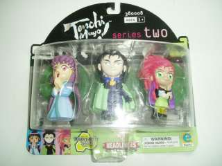 TENCHI MUYO SERIES TWO ACTION FIGURES HEADLINERS 2001