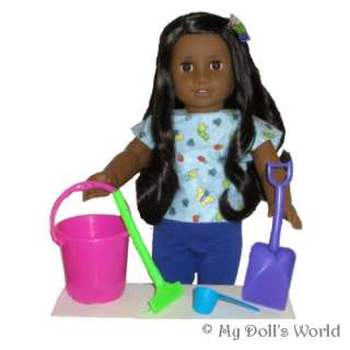 PIECE BEACH SET FIT AMERICAN GIRL DOLL KANANI~KAILEY