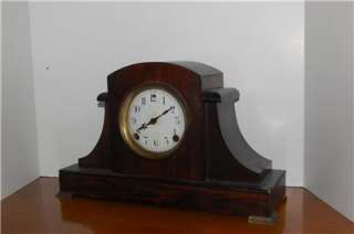 RARE ANTIQUE SESSIONS EN WELCH MANTLE CLOCK GORGEOUS 31 DAY ART DECO