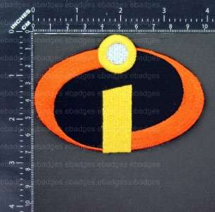 D523 The Incredibles Logo Iron On Patch