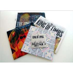 The King Of Limbs  Newspaper Edition (10 clear vinyl w