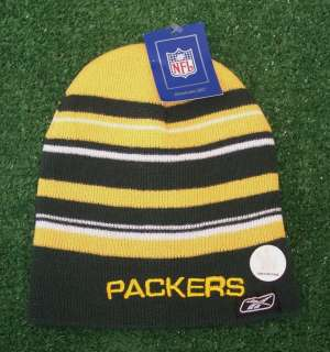 Green Bay Packers YOUTH Winter Beanie Hat Knit Cap NFL Authentic & NEW