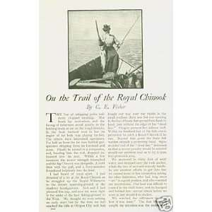 1911 Salmon Fishing Royal Chinook Oregon City: Everything Else