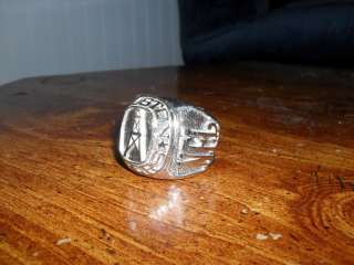 RARE Houston Oilers NFL Football Oversized Championship Large Ring
