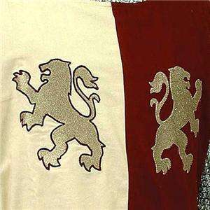 LIONHEART King Richard MEDIEVAL KNIGHT TUNIC SURCOAT