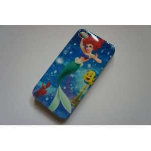 Mermaid Hard Cover Case for iPhone 4 4G & 4S + Free Screen Protector